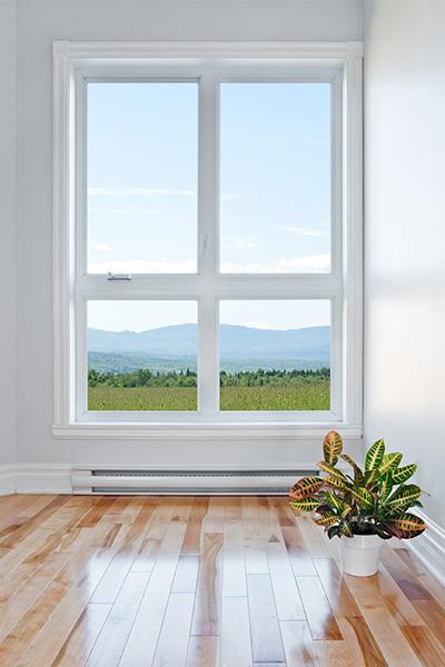 image d'une fenêtre oscillo battant